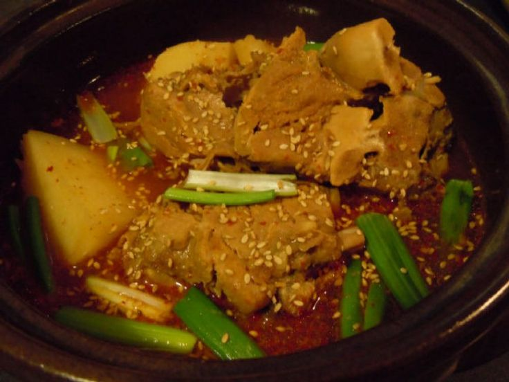Pork shoulder bone soup recipe