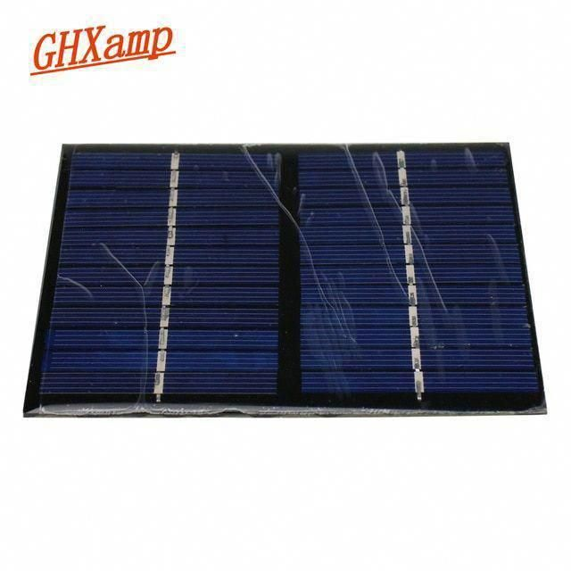 Ghxamp Solar Panel 12v 1 5w Diy Battery Power Charge Module For Phone 115x90mm Polycrystalline Silicon Solar Cell 1pc Revi In 2020 Best Solar Panels Solar Solar Panels