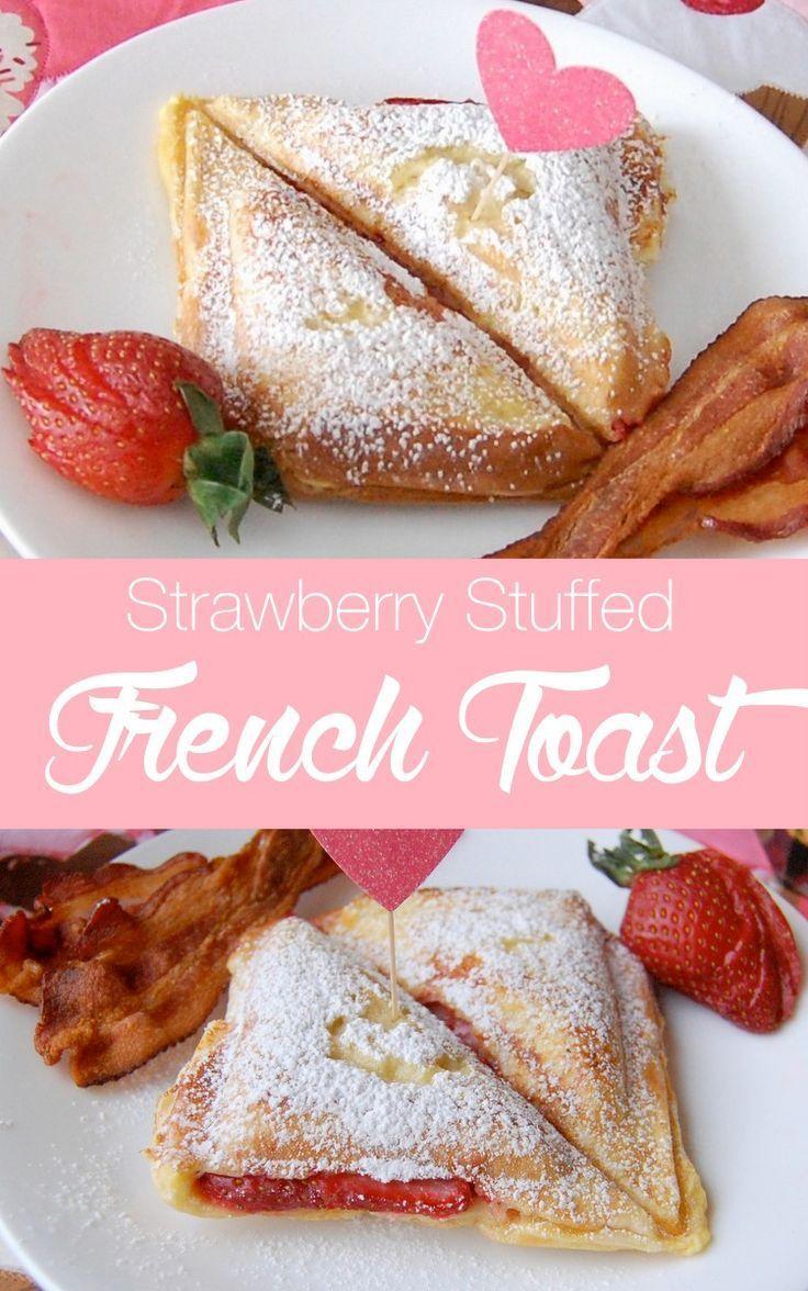 strawberry stuffed french toast a yummy way to start your day   http://NoBiggie.net