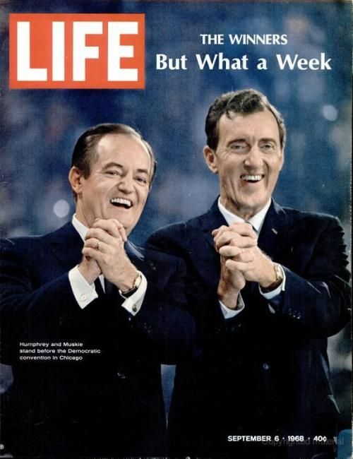 """But what a week..."" Life Magazine cover of 1968 Chicago Democratic Convention"