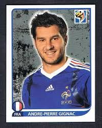 Image result for 2010 panini france gignac