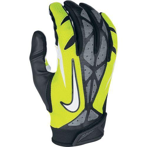 nike vapor jet gloves navy blue and white