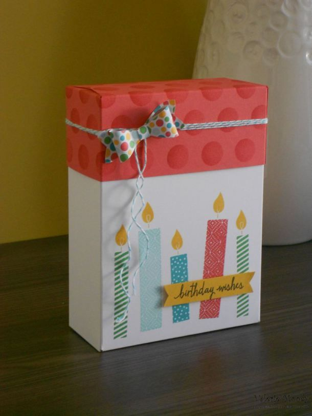 Using the Gift Bag Punch Board - Lidded Boxes...