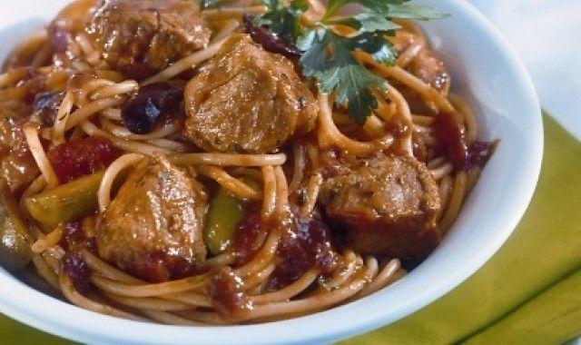 Μοσχαράκι γιουβέτσι με μακαρόνια στο φούρνο