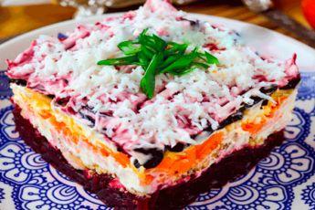 Салат «Чингисхан». Удивительно вкусный и красивый!