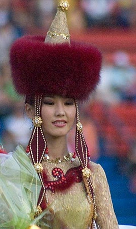 Buryatian beauty.