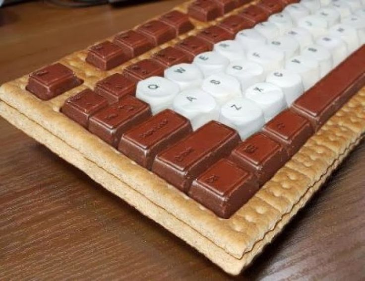 Smores keyboard!!  Top 20 Unique and Funny Office Supplies - Office Pains