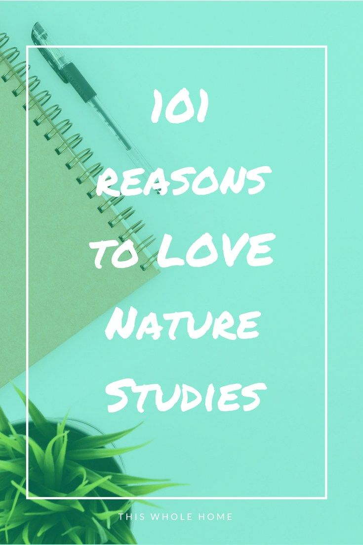 101 Reasons to Love Nature Studies with Your Kids