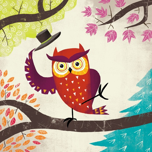 I would love to have this owl as a figurine for my Addy girl's tree in her room