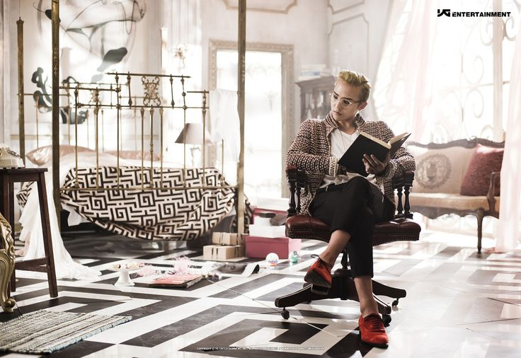 """More Concept Photos from G-Dragon's """"One of a Kind"""""""