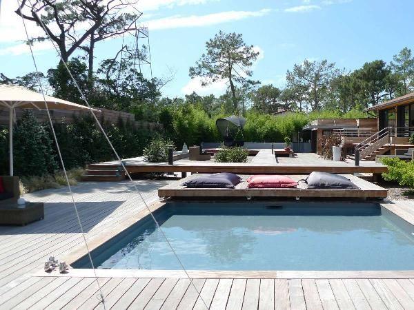 44 best maison images on Pinterest Fire places, Fireplace heater - location maison cap ferret avec piscine