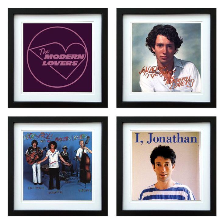 Jonathan Richman | Framed Album Art Set of 4 Images | ArtRockStore