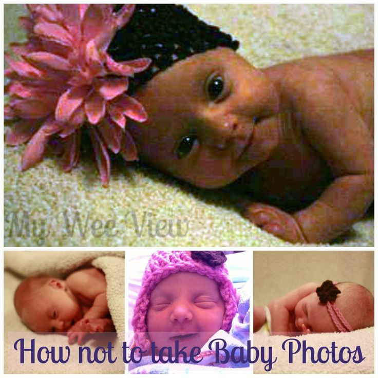 How not to take Baby Photos