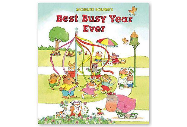 Richard Scarry's Best Busy Year Ever on OneKingsLane.com