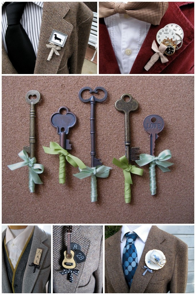 Creative buttonholes - we are looking for fish inspired.