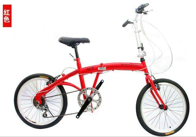 OEM de Fábrica 20 pulgadas Neumático de la Bicicleta Plegable Bicicleta de Acero Inoxidable Habló