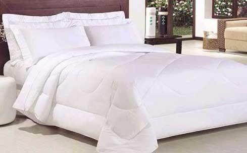Edredom Casal Branco Malha Nobre Dupla Face 100% Algodão - R$ 99,99 em Mercado Livre