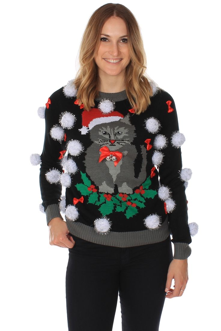 Let's own the season with an Ugly Christmas Sweater Party. This one even has bells on it