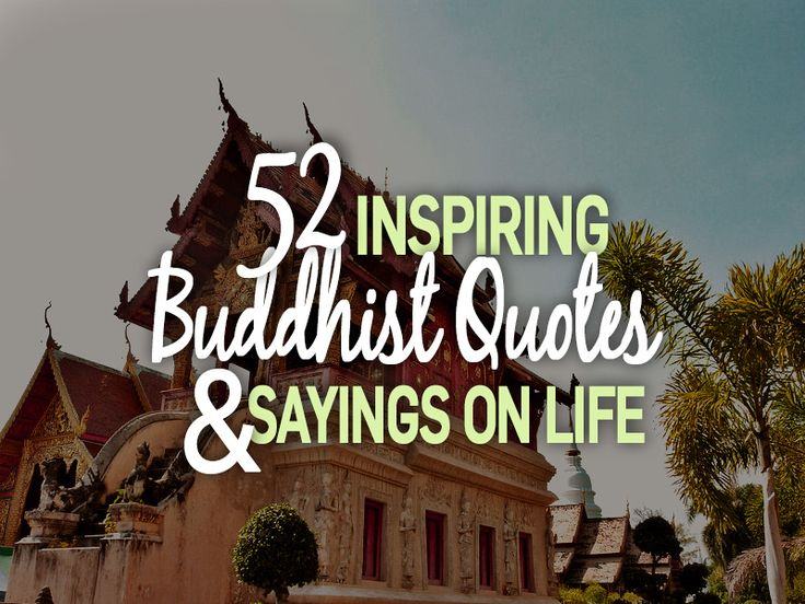 Life Quotes And Sayings 52 Inspiring Buddhist Quotes And Sayings On Life  Nomadic Notes .