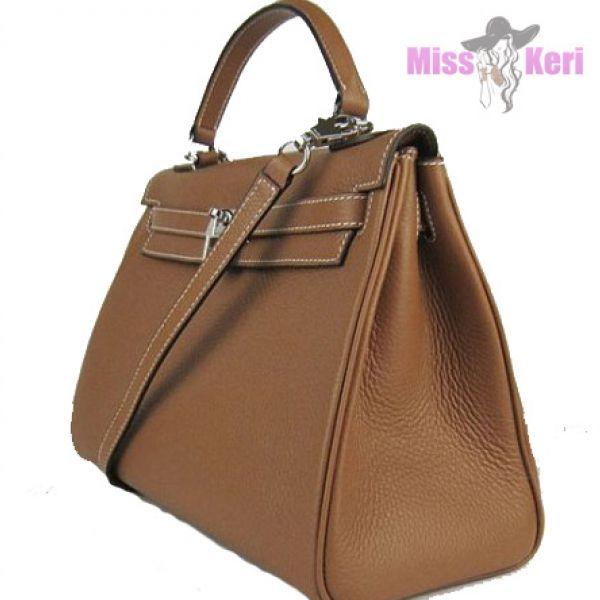 Сумка Hermes Kelly коричневого цвета купить, цена, интернет-магазин, отзывы