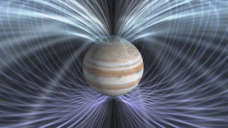 Scientists will use the twin magnetometers aboard NASA's Juno spacecraft - NASA's Juno Peers Inside a Giant