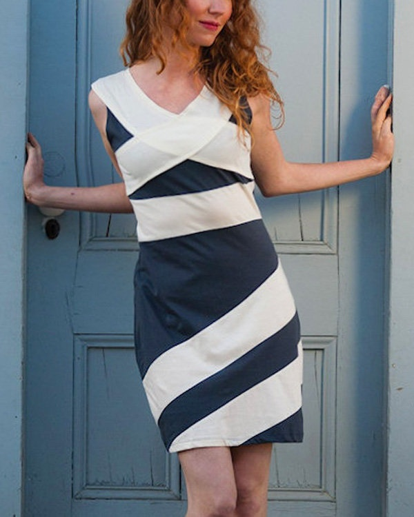 Organic Cotton Criss-Cross Dress