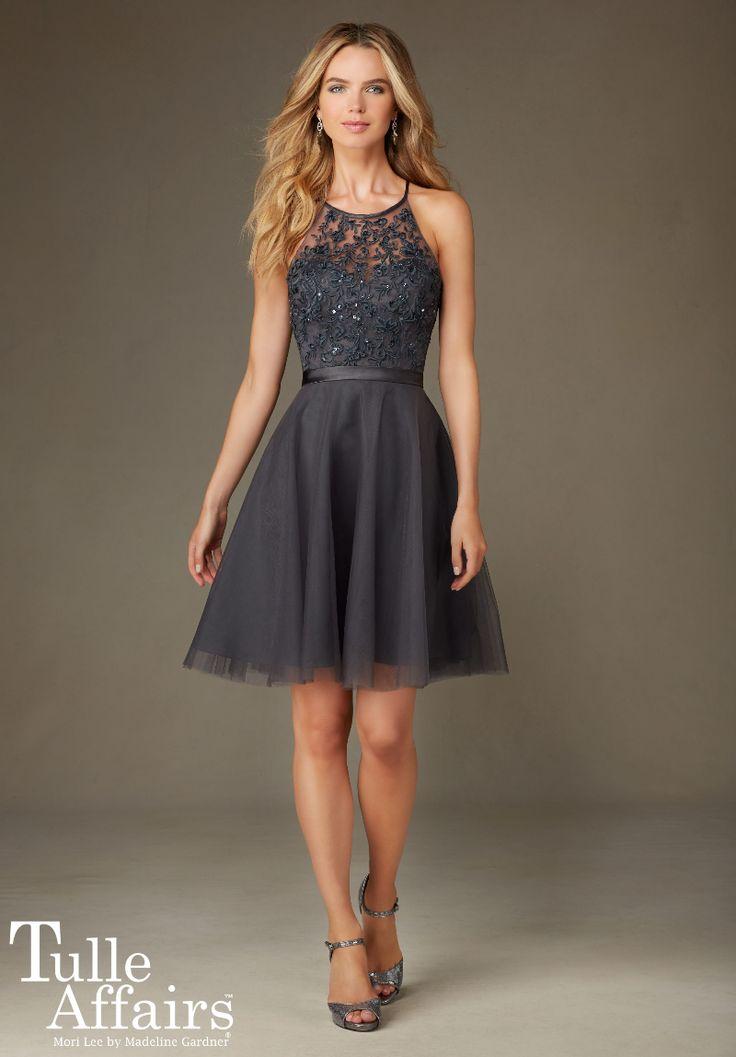 Mori lee style 791 chiffon dress