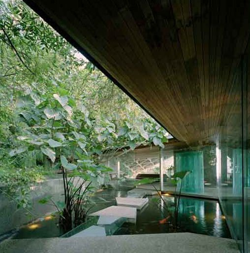 Glass Wall Home in the Hollywood Hills designed by John Lautner