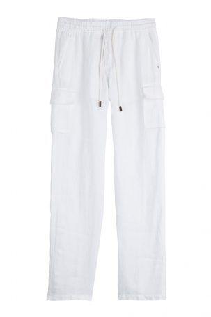 Vilebrequin Vilebrequin Leinenhose – Weiß