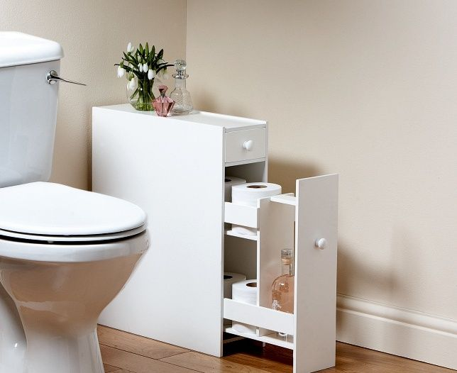 White Slimline Bathroom Cabinet Slimline Bathroom Cabinet