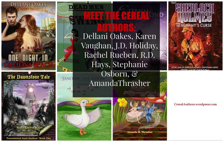 Some of us have saved lives, worlds and even time traveled. So check out the blog: http://www.cerealauthors.wordpress.com