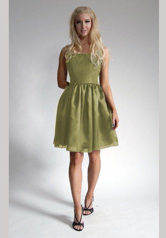 Elizabeth St. John Social Dahlia Bridesmaid Dress
