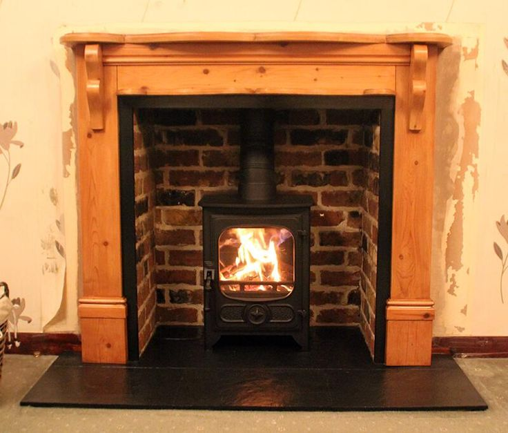 Wood Stove Fire Bricks 4 9 : Best bespoke fireplaces with charnwood wood stoves