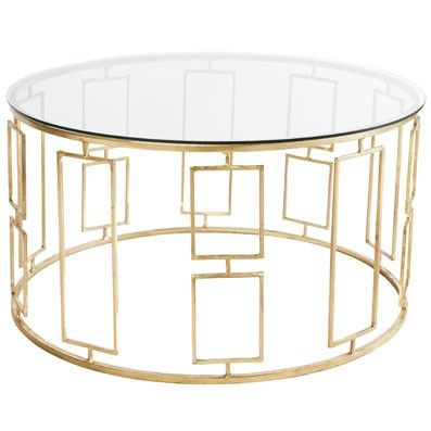 Manhattan Round Coffee Table