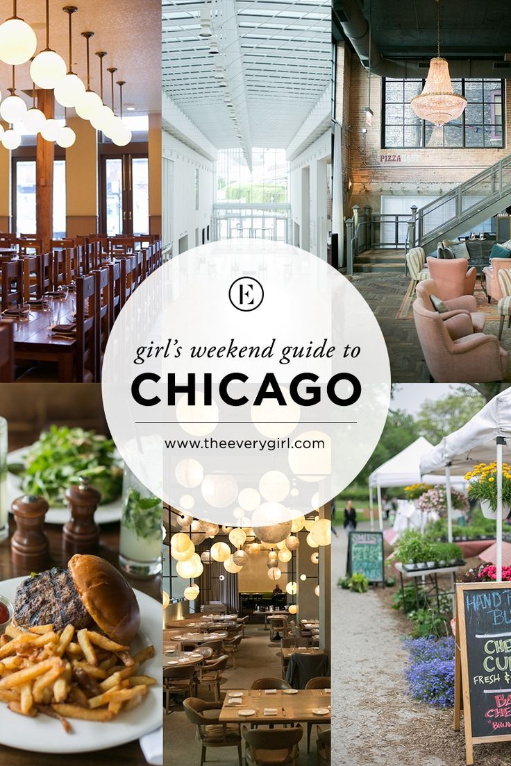 Sometimes, a girl needs a weekend away with her friends. Here's the perfect guide to a girls' weekend in Chicago! #WindyCityWednesday #ChicaGoTOL #CheckTOL