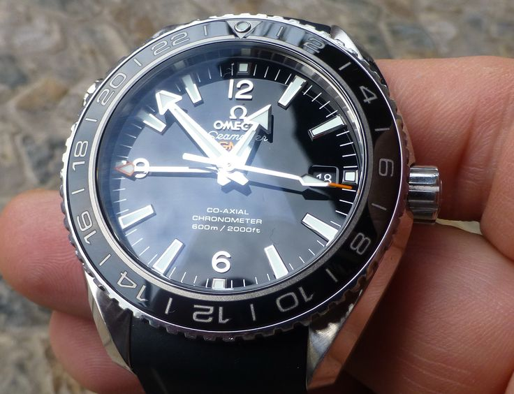 selling my omega planet ocean gmt all papers invoice