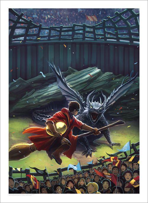 [Arte e Design] Arte das Capas Originais dos 7 Livros da Série Harry Potter | PopHD >> veja mais em www.pophd.com.br