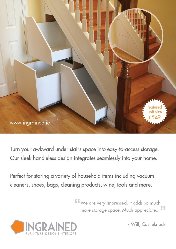 under stairs storage dublin