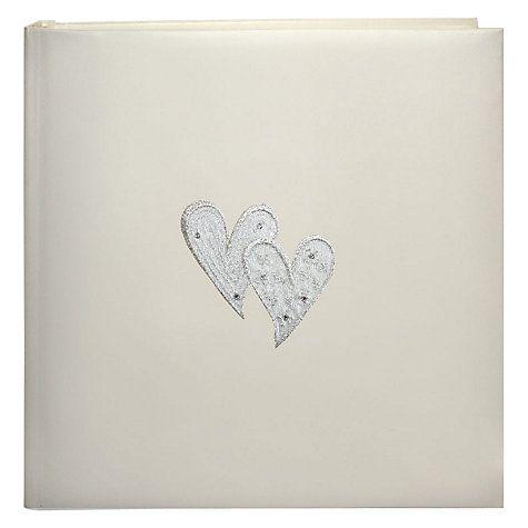 Buy Hearts Traditional Photo Album, Large | John Lewis