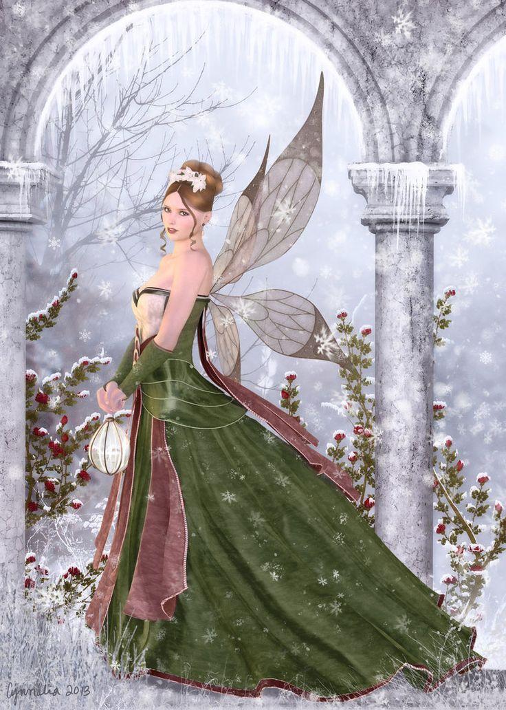 Magical Season by Cynnalia, fairy art