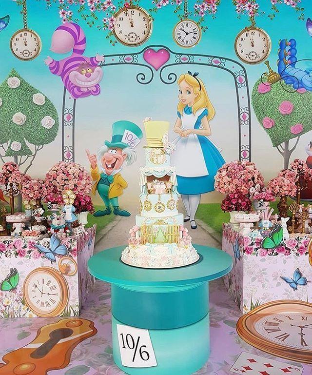 Incrivel Essa Festa Com O Tema Alice No Pais Das Maravilhas
