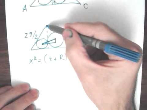 Найдите расстояние между центрами окружностей. А делит высоту, проведенную из вершины В, в отношении 13:12, считая от точки В. Найдите длину стороны ВС треугольника равен 26 см. Я нашел решение: Обозначаем М - основание высоты из точки В, К - точка пересесения этой высоты с биссестрисой угла А. Тогда cos(A) =1/2.