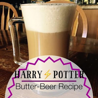 Moonie-Mag Malan: Butter Beer Recipe Easy Harry Potter butter beer recipe. good summer drink with only three ingredients. Feel magical and feel like youre in harry potter or at hogwarts.
