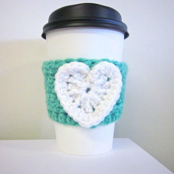 Mejores 635 imágenes de Crochet coffee cozy en Pinterest ...
