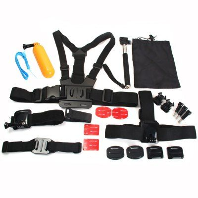 GearBest,23PCS / Package AT435 Accessories for Action Sport Camera