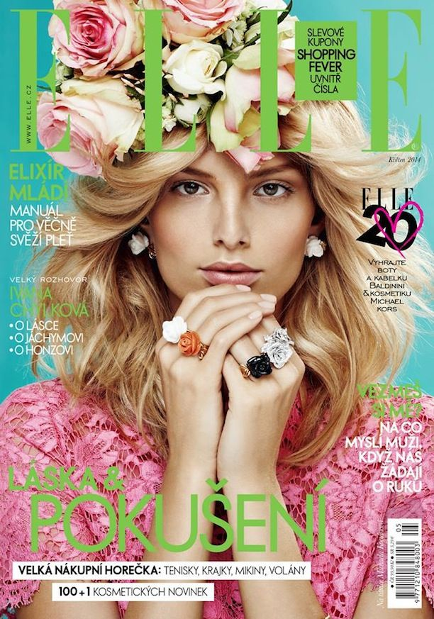 Floral Inspiration From Elle Magazine Czech Republic May
