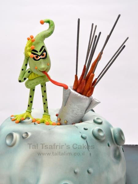 Taltalim - Aliens cake