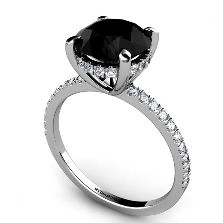 Best 25+ Black diamond wedding sets ideas on Pinterest | Black ...