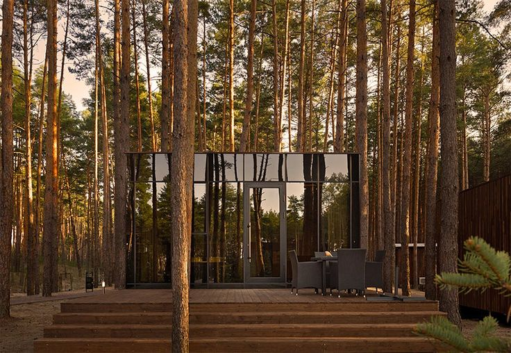 These charming, rustic guest houses were designed by Studio YOD for Relax Park Verholy, a spa-complex nestled in a pine forest in Ukraine's Poltova region. To keep its surrounding environment as intact and untouched as possible, Studio YOD used lightweight metal frames for the houses' structures, which they mounted on a screw base and raised …