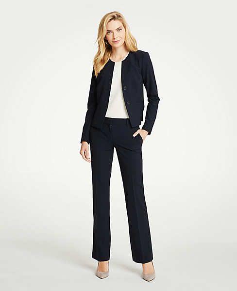 746a80f93 Petite Seasonless Stretch Two Button Jacket | Ann Taylor | Best ...